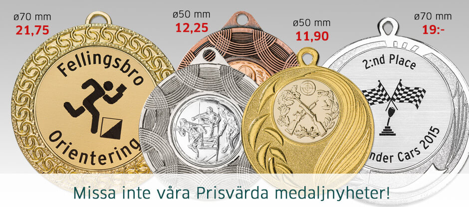 Nya medaljer
