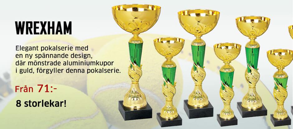 Pokalserie i 8 storlekar Från 71:-