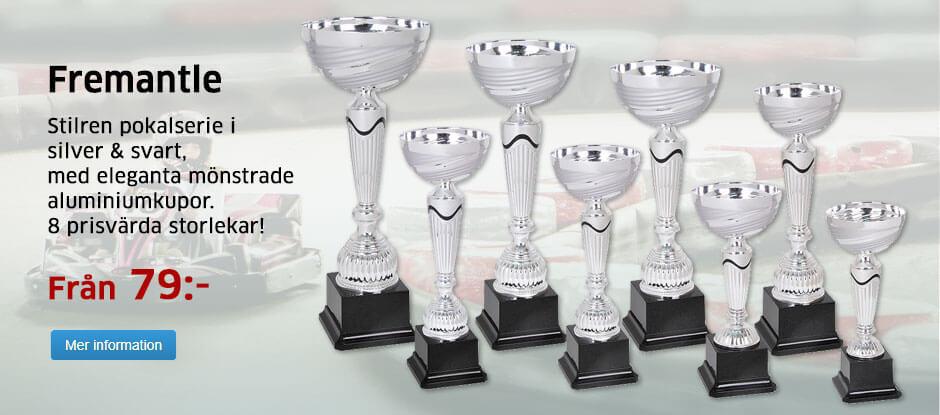Pokalserie i 8 storlekar Från 79:-